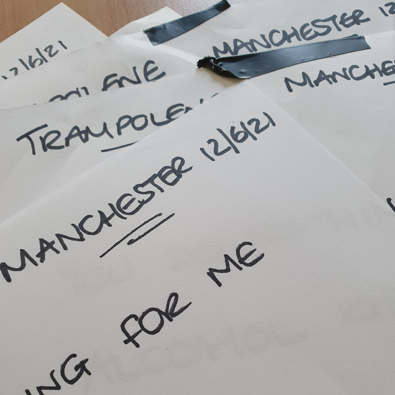 Image of Signed setlist
