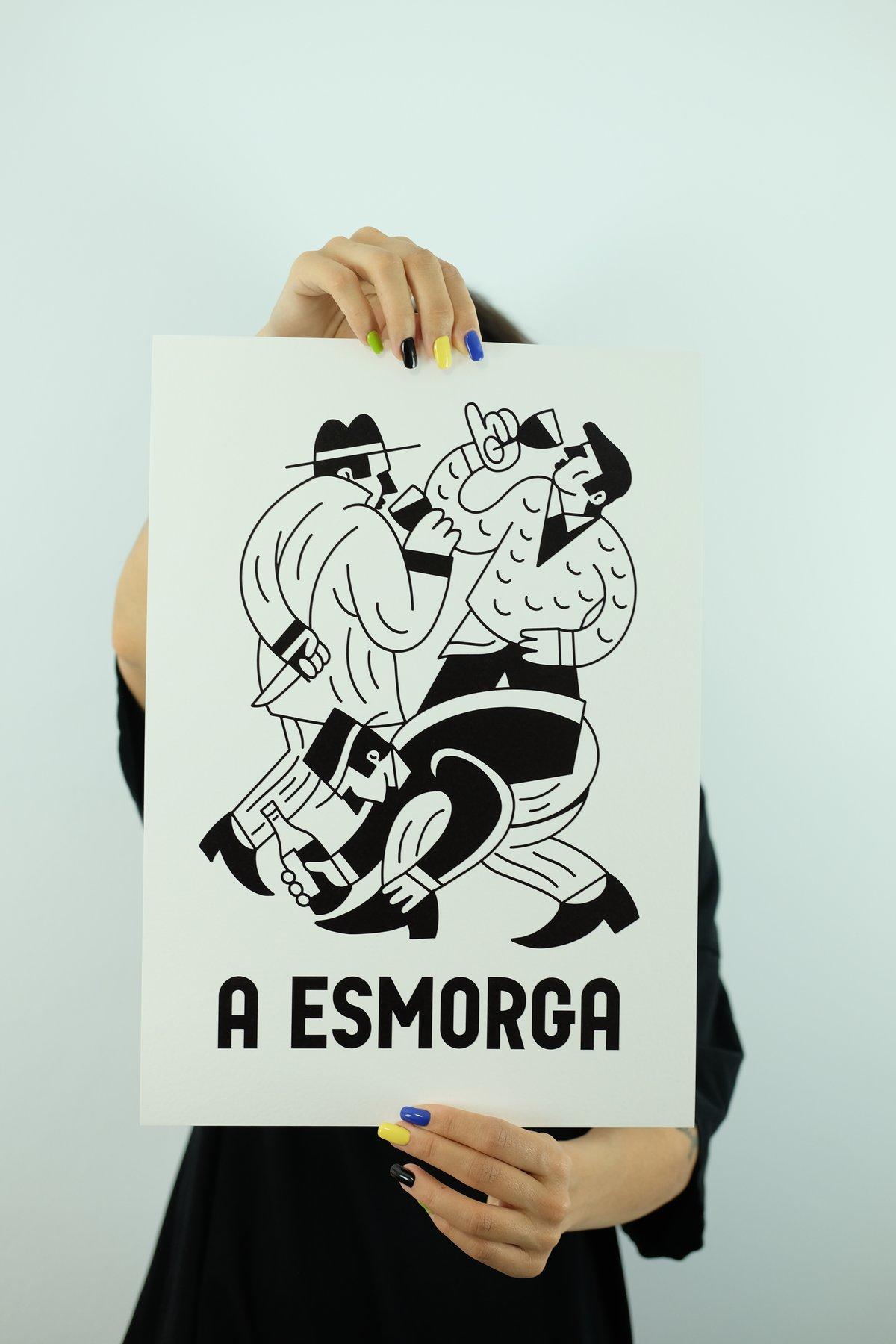 Image of A ESMORGA - NEGRO