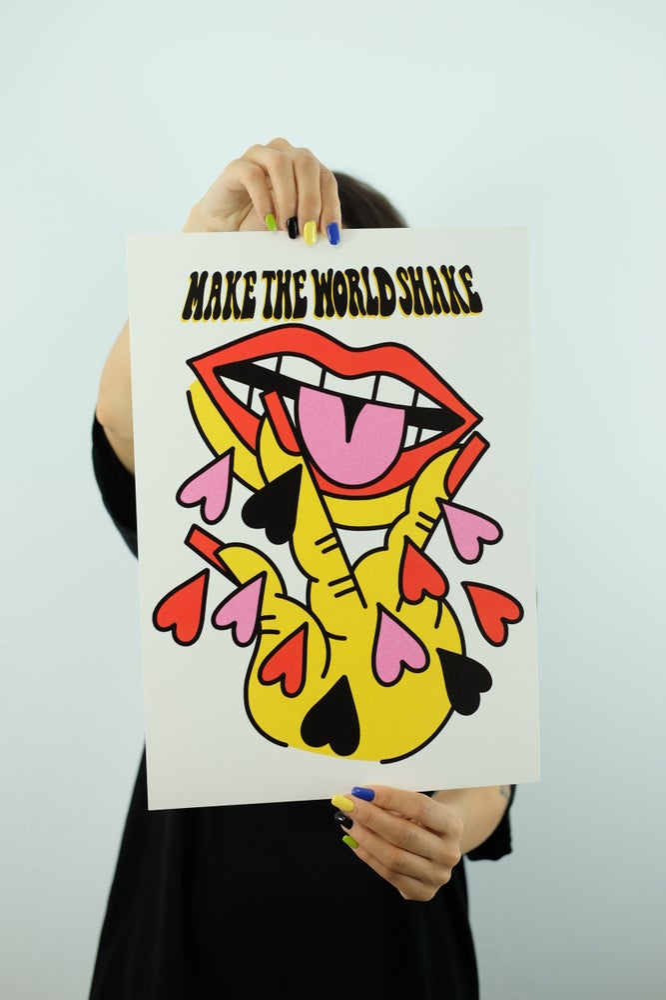 Image of MAKE THE WORLD SHAKE