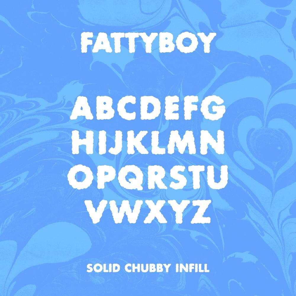 Image of Fattyboy & Foamyboy - Fonts