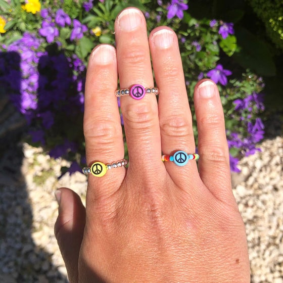 Image of Peace rings or bracelets