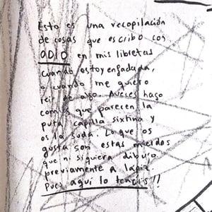 """Odiar es gratis"" fanzine"