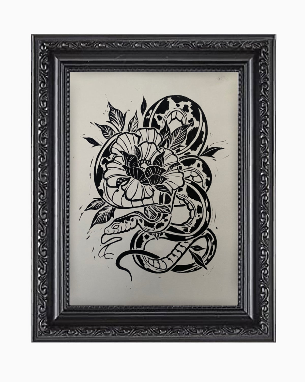 SNAKE - RELIEF PRINT LIMITED EDITION