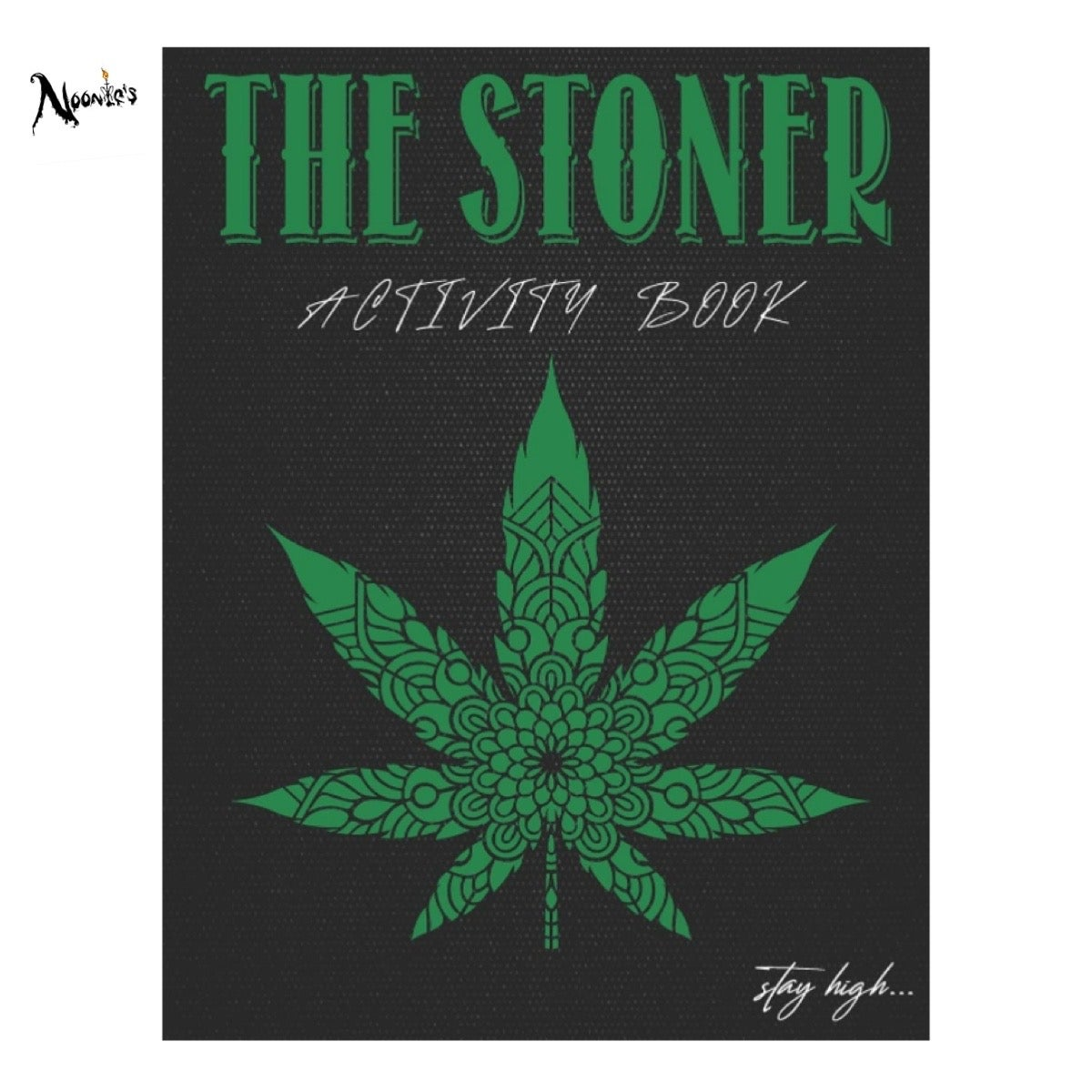 Image of Productive stoner activity book