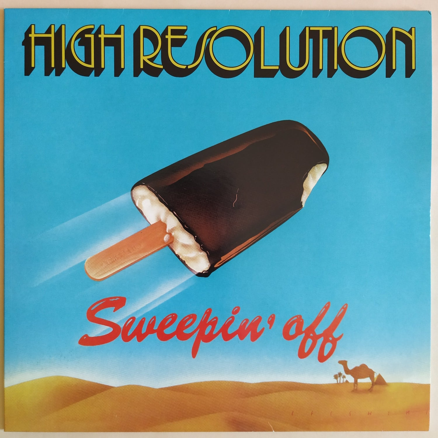 Image of High Resolution - Sweepin' Off  (Reissue)
