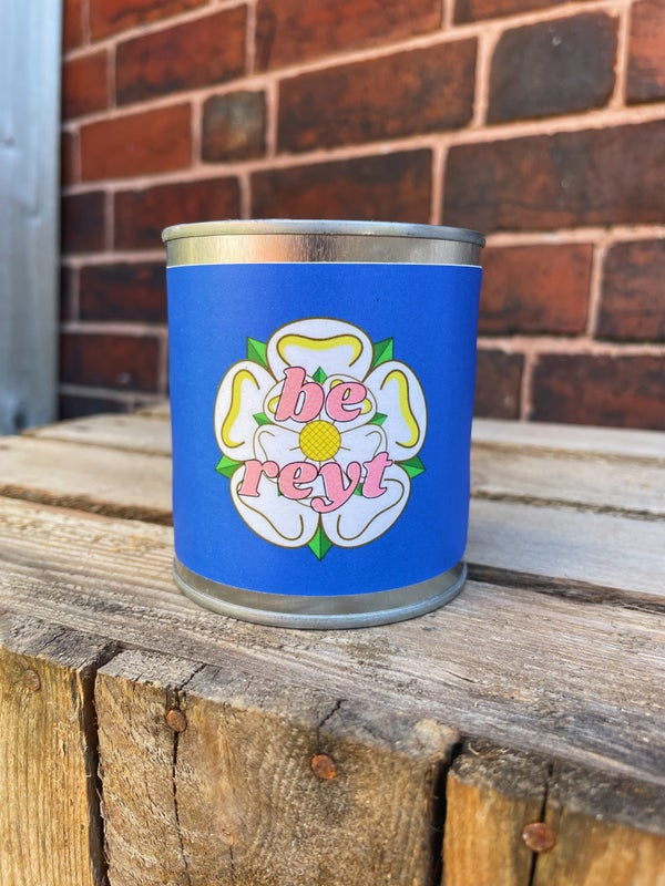 Image of 'Be Reyt' Yorkshire Candle
