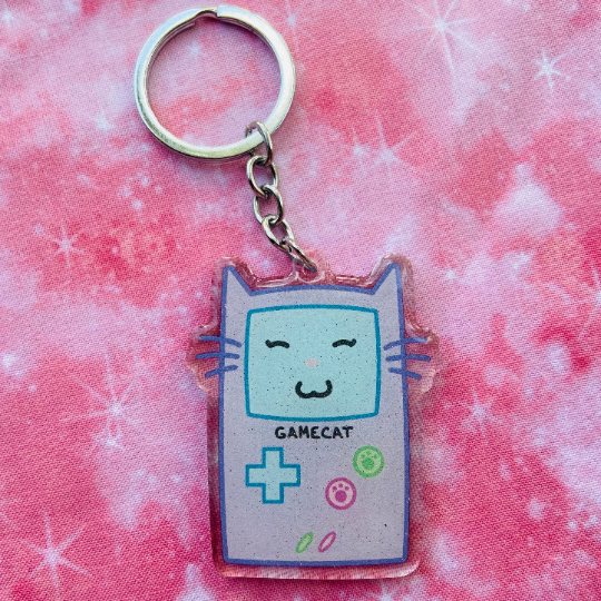 Image of Gamecat Keychain