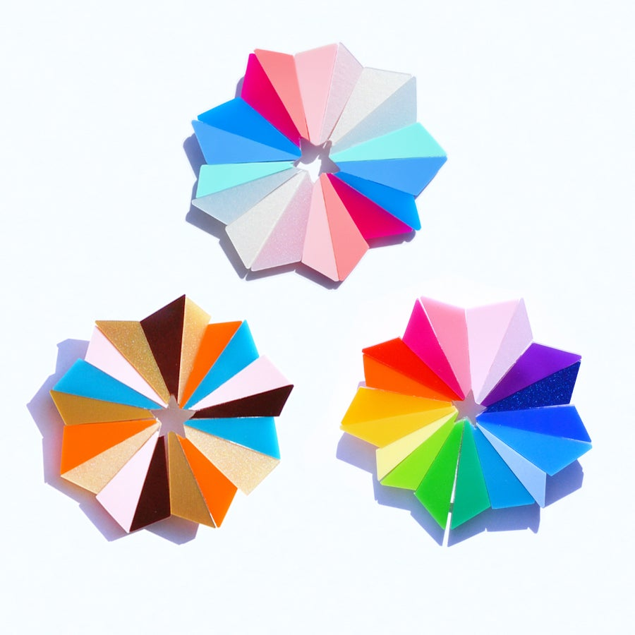 Image of Starburst Brooches
