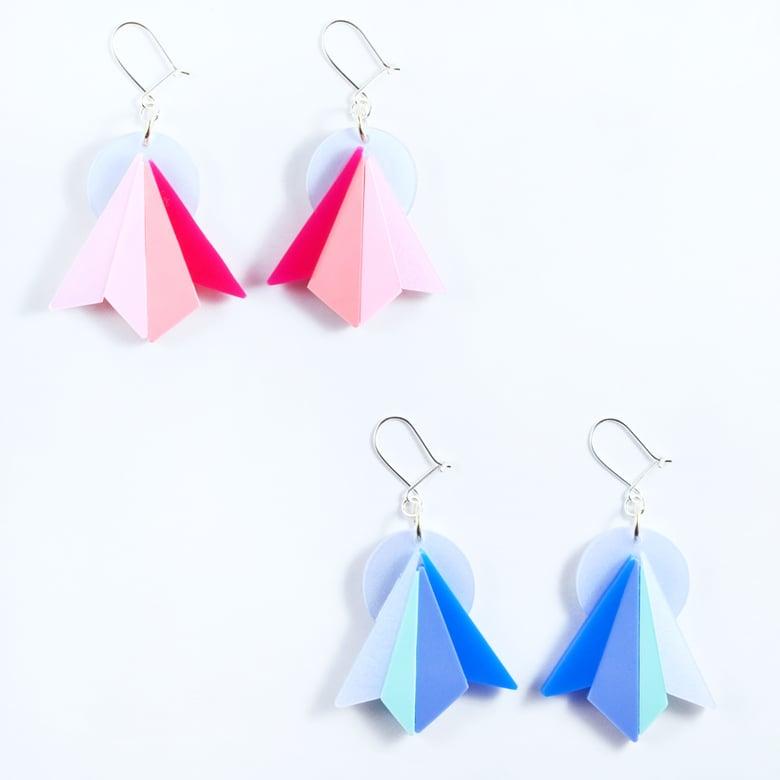 Image of Starburst Earrings Pastel