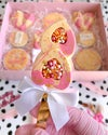 Double Heart Cakesicle mould
