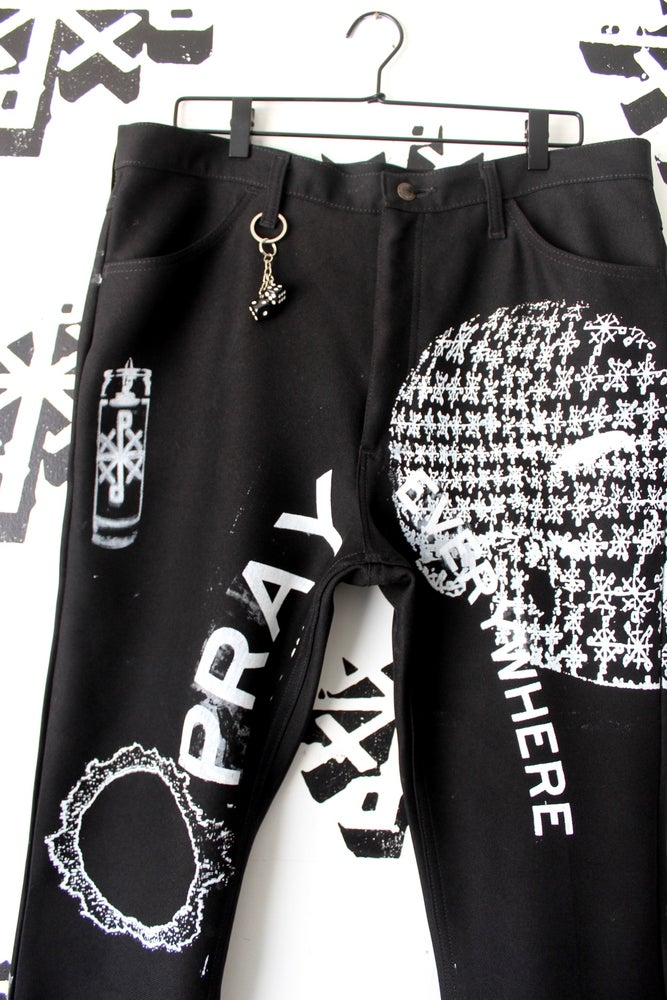 Image of hot hand pants in black