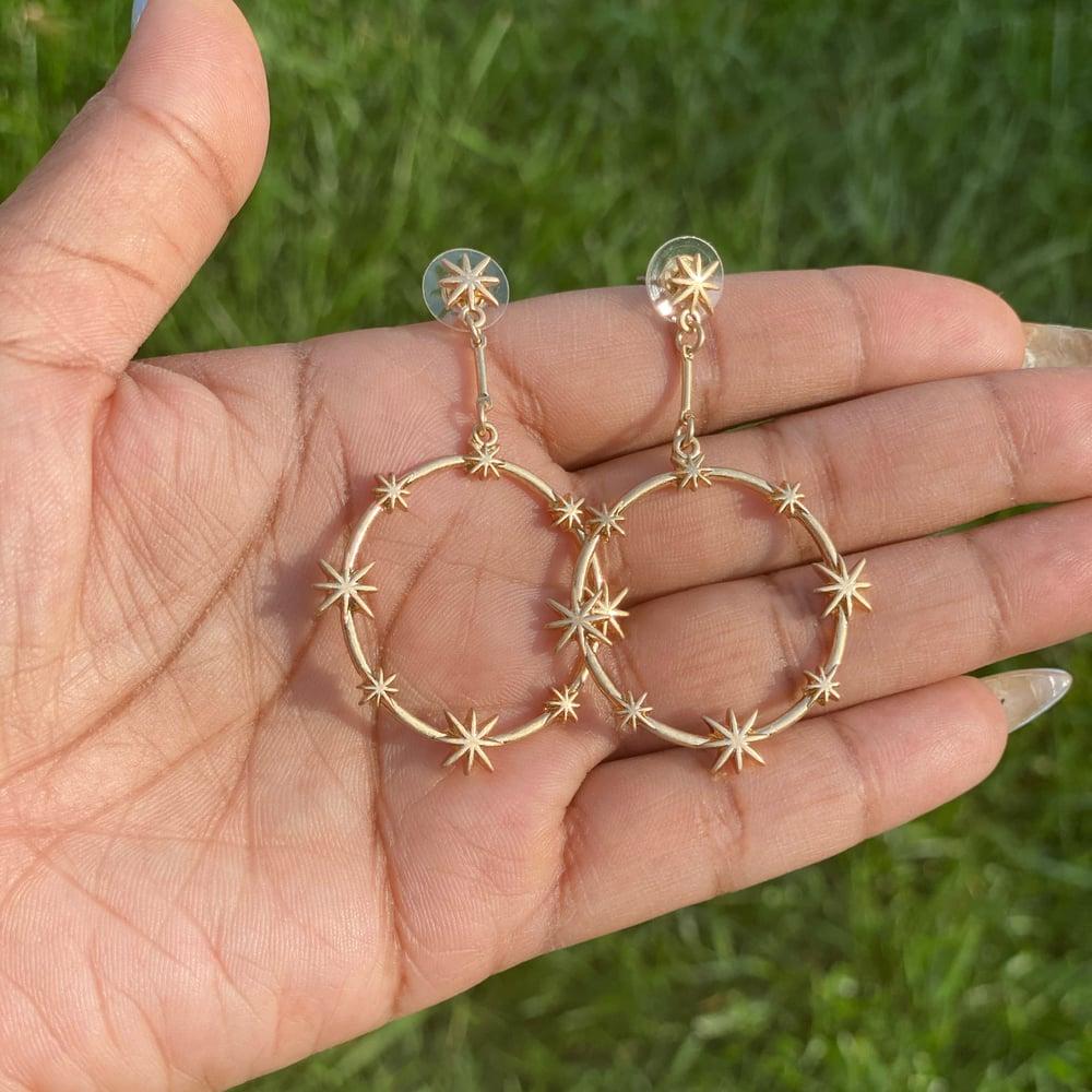 """Image of """"Stargaze"""" earrings"""