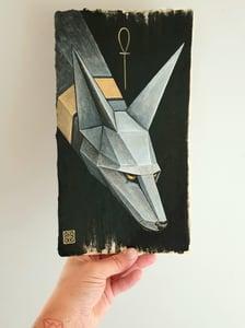 """Image of """"Nix"""" original watercolour"""