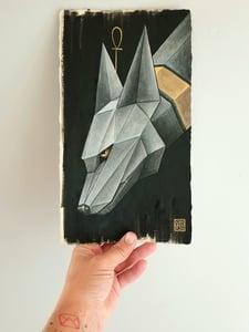 "Image of ""Styx"" original watercolour"
