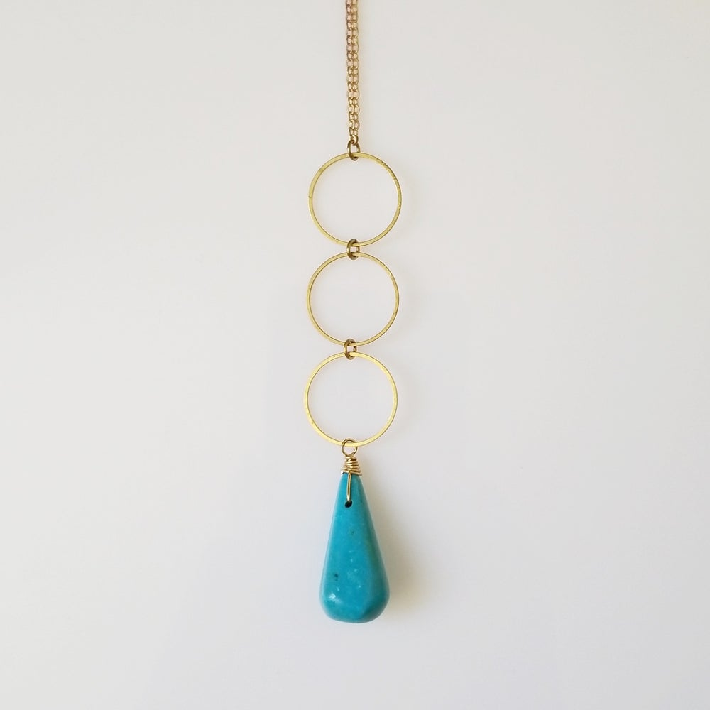 Image of Circles + Turquoise, As Gifted to Netflix Series TBA