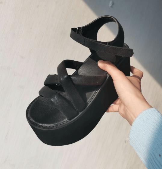 Image of Elfie Platform Sandals