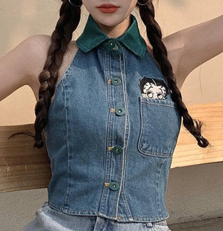 Image of Betty Boop Jean Top