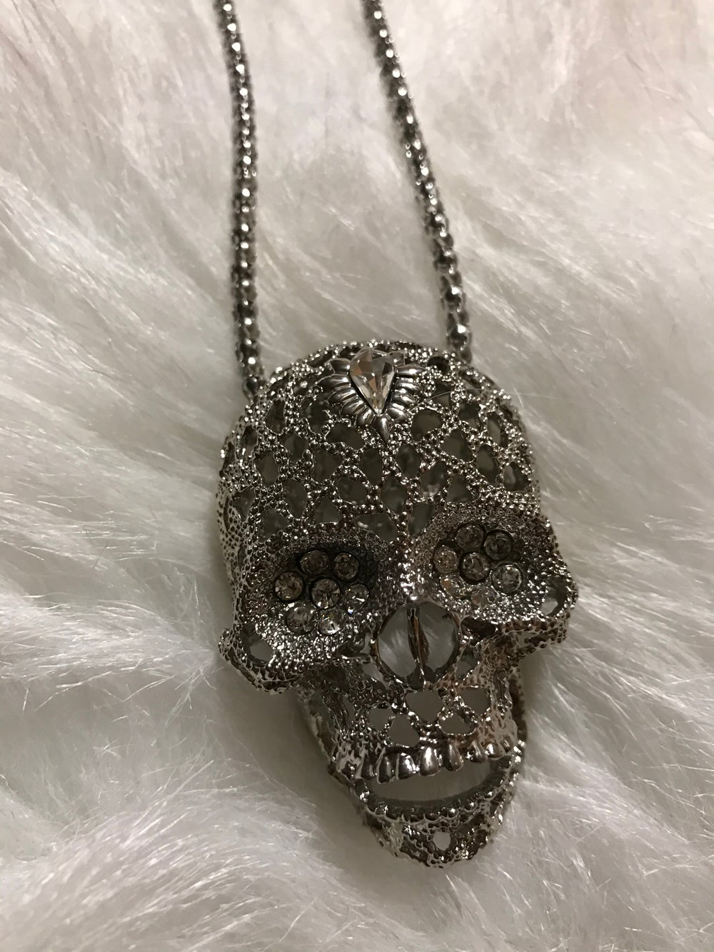 """Image of """"3D SKULL"""" NECKLACE"""
