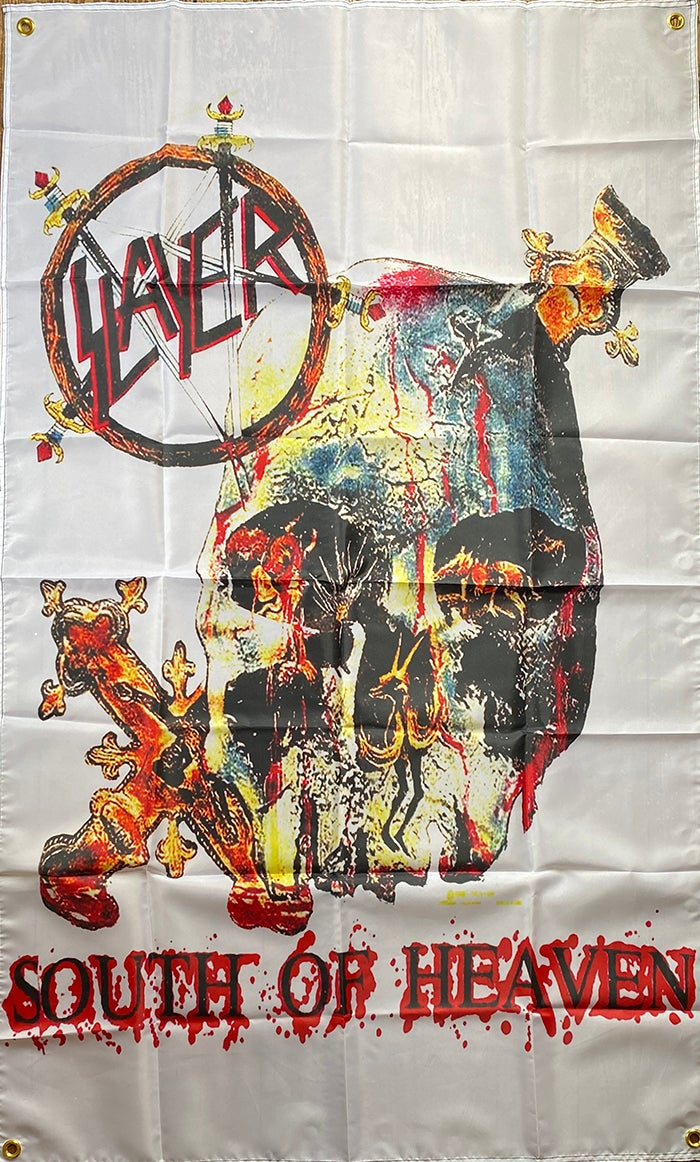 """Image of Slayer """" South Of Heaven""""   Flag / Tapestry / Banner"""