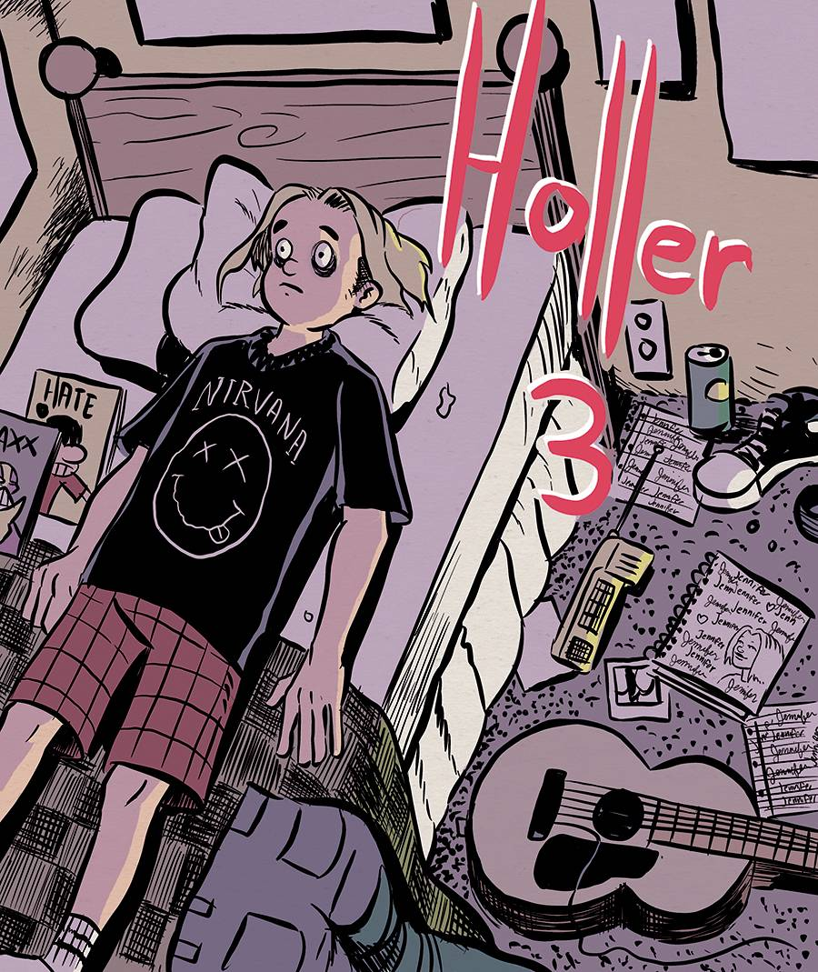 Image of HOLLER #3 (Cover A)