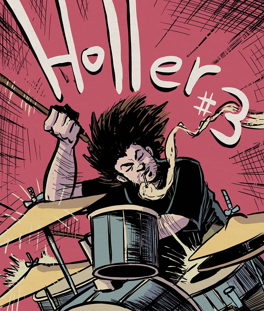 Image of HOLLER 3 (Cover B)