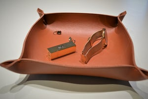 Image of Leather Tray