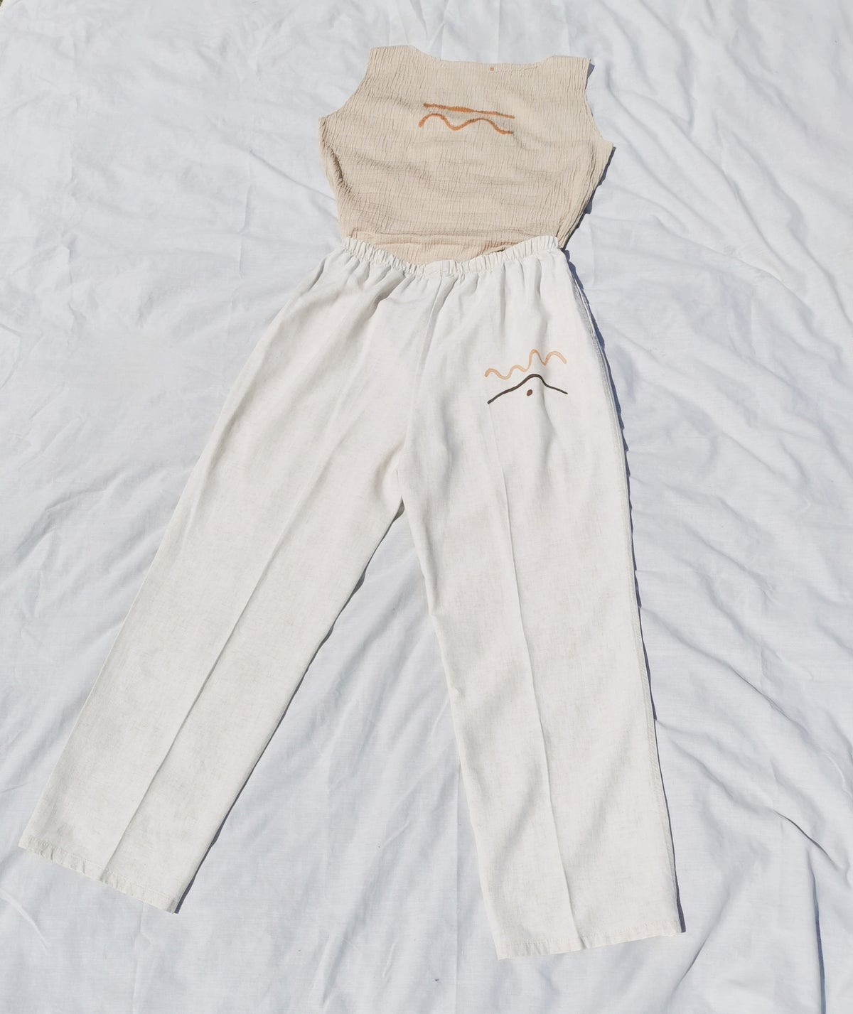 Image of coil coil trousers