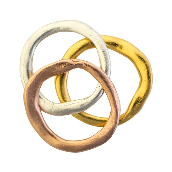Image of Matching set Madrid stacking ring