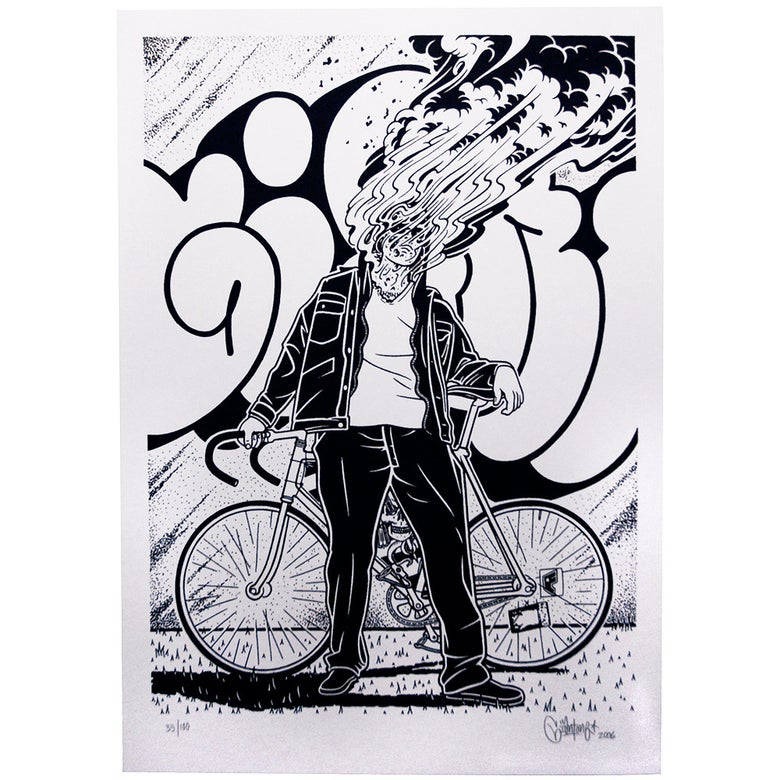 Image of Mike Giant Limited edition screen print