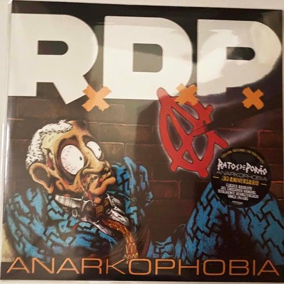 "Image of RATOS DE PORAO ""Anarkophobia"" LP Argentine Import"