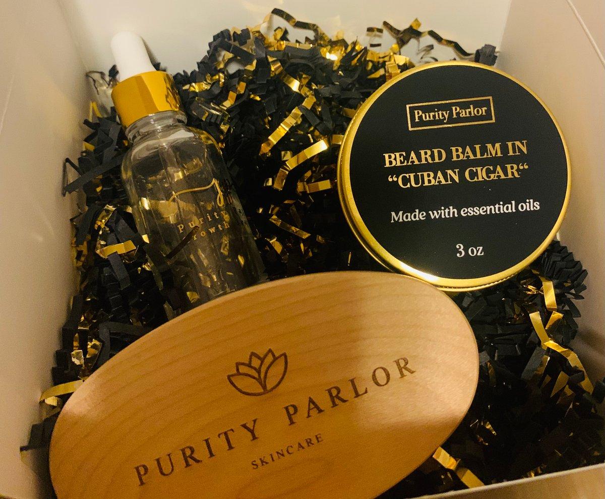 """""""Cuban Cigar"""" Beard Kit Father's Day Gift Set"""