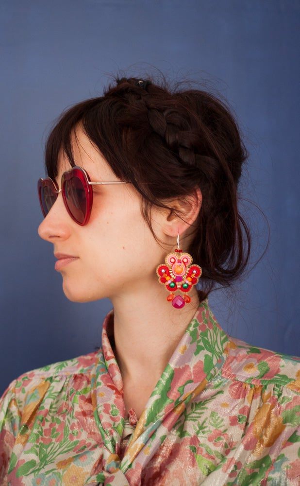 Image of Neon Party - Edition Pearl - Festives Boucles brodées