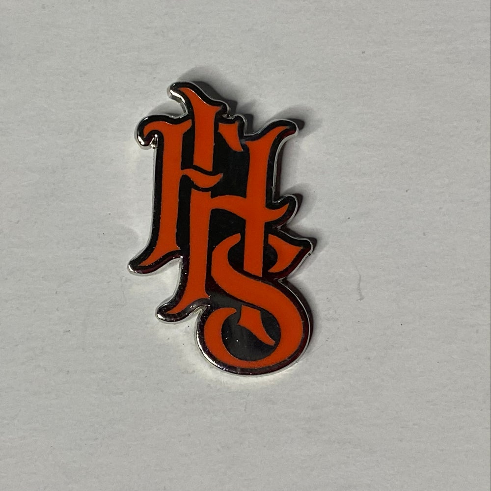 FHS LOGO 3 - Lava Red & Silver