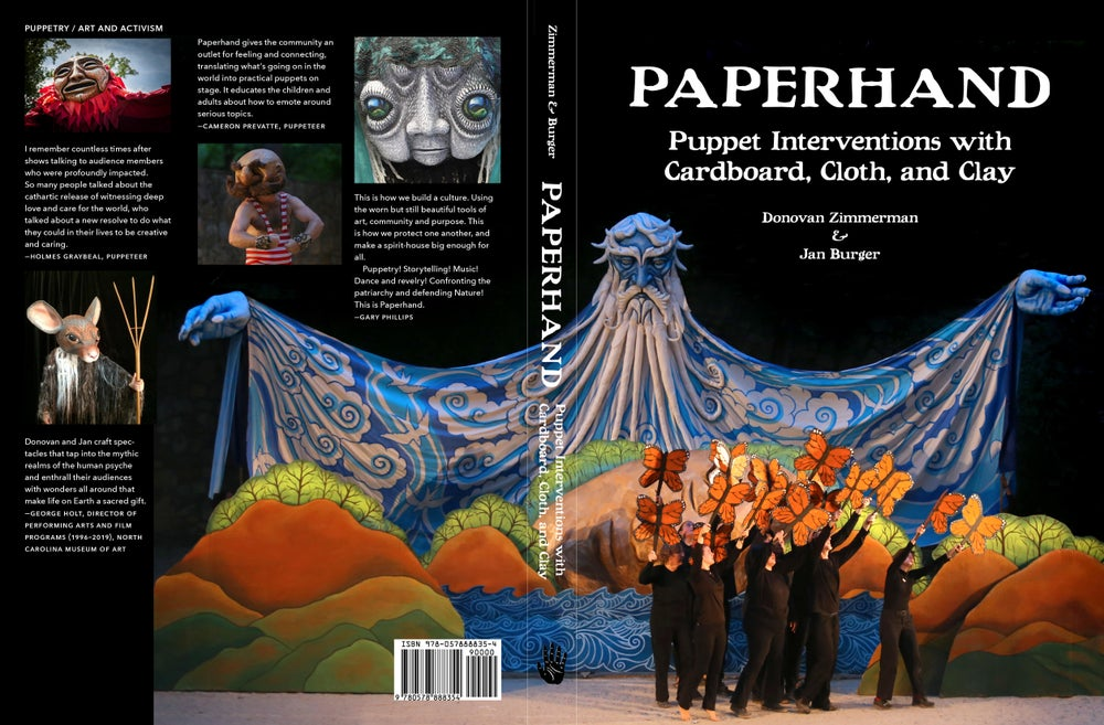 Image of Paperhand: Puppet Interventions with Cardboard Cloth And Clay