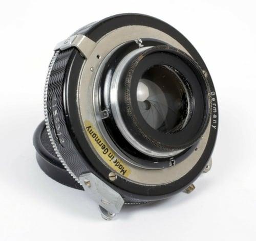 Image of Schneider Symmar convertible (Dagor) 135mm F6.8 lens in Compur #0 shutter