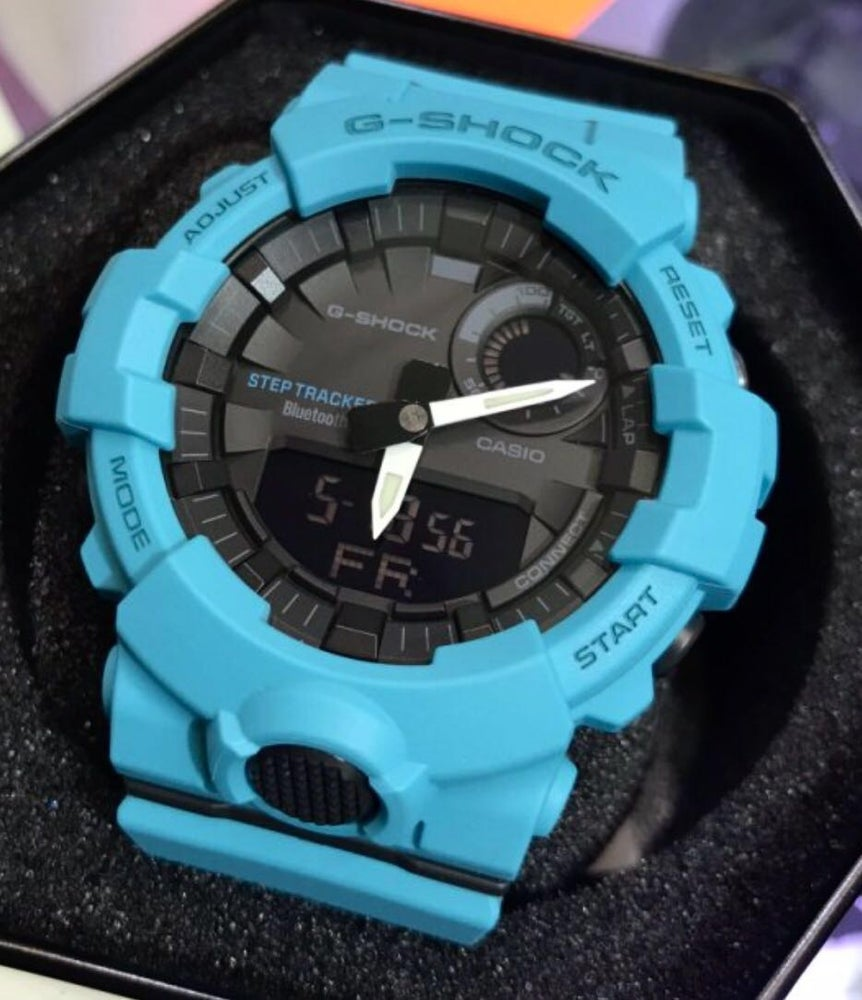 Image of GBA-800 - Bluetooth Fitness Watch - Blue