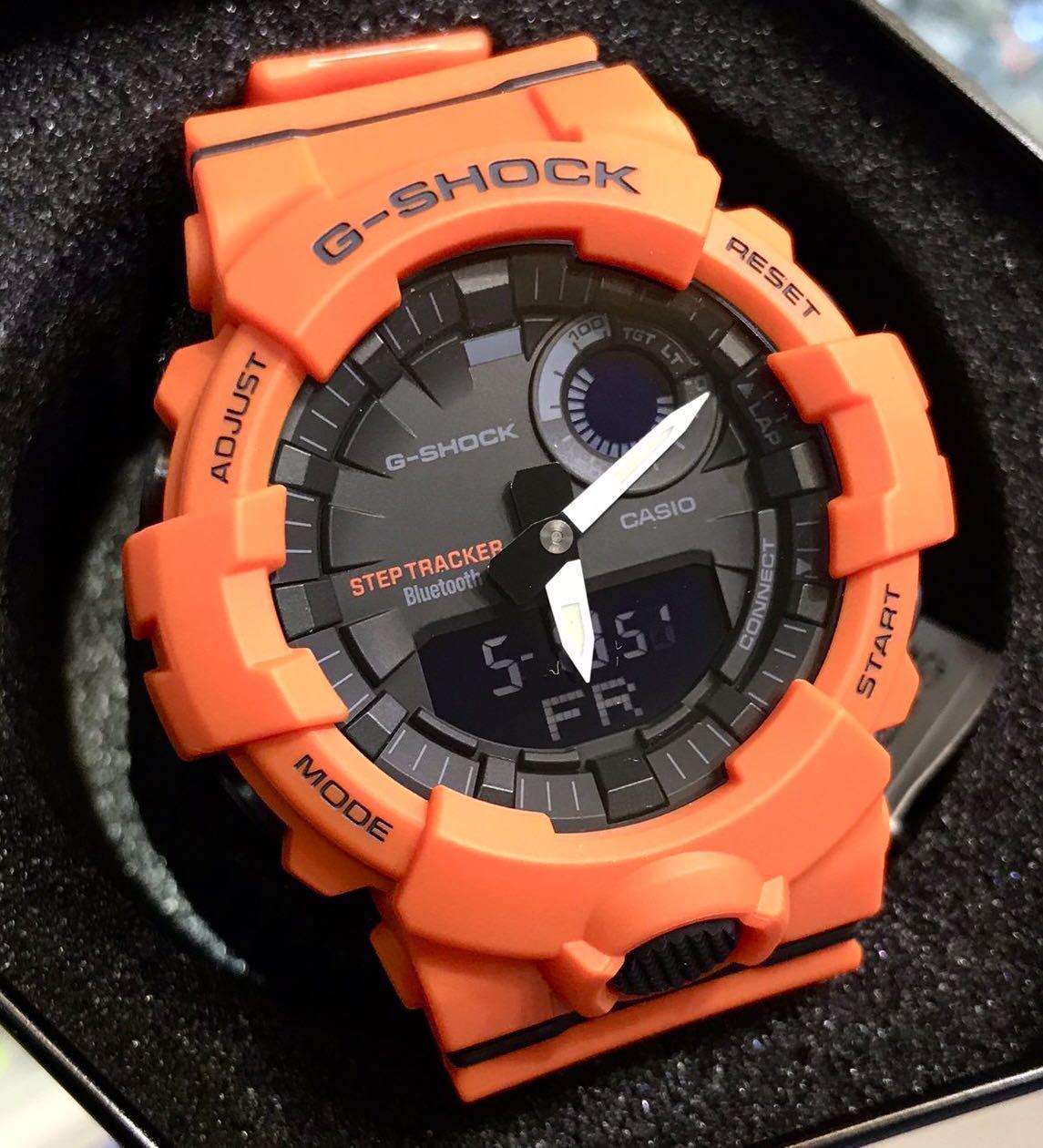 Image of GBA-800 - Bluetooth Fitness Watch - Orange