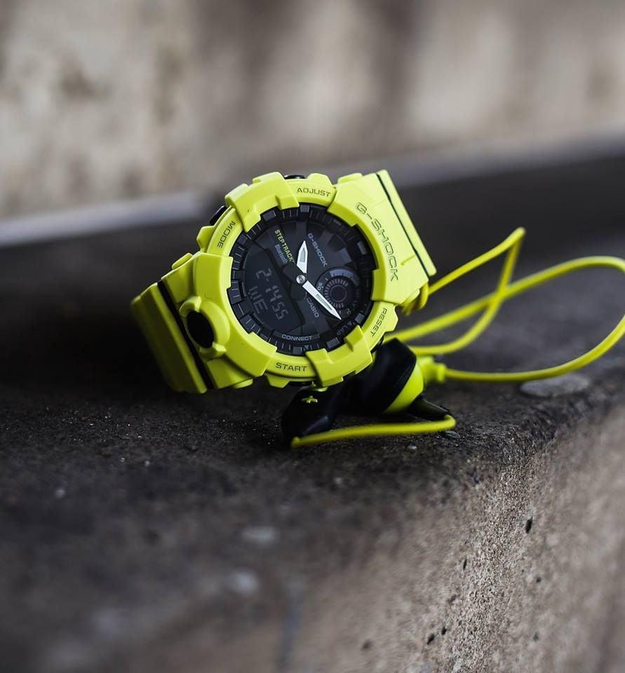 Image of GBA-800 - Bluetooth Fitness Watch - Yellow