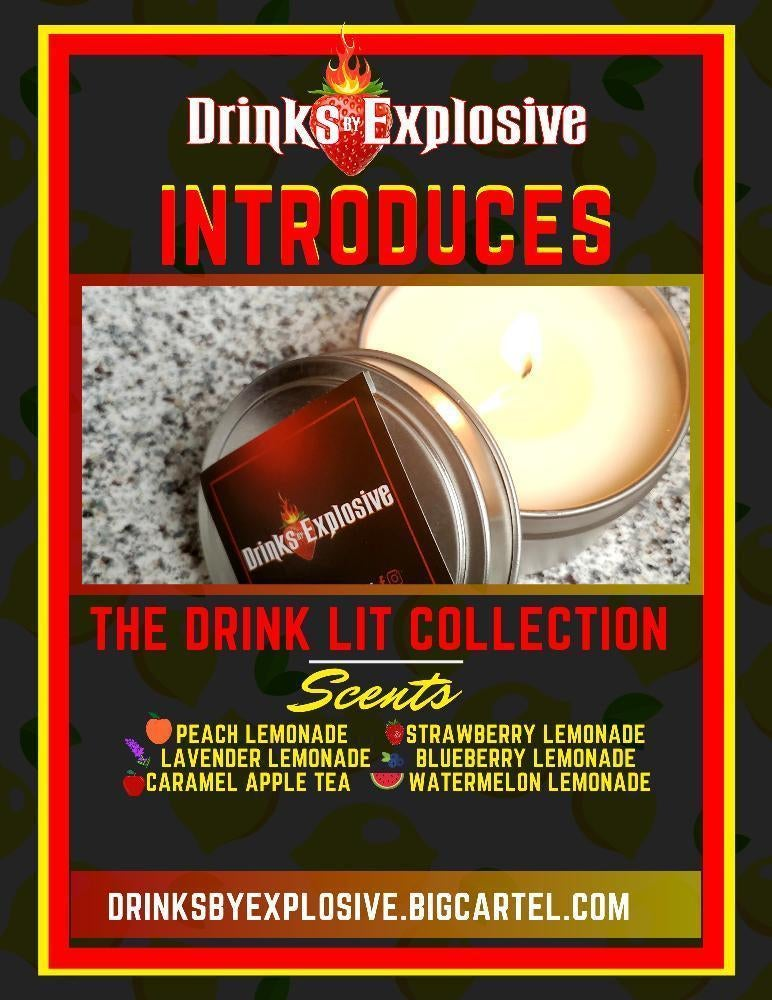 Image of Drink Lit Candle Collection