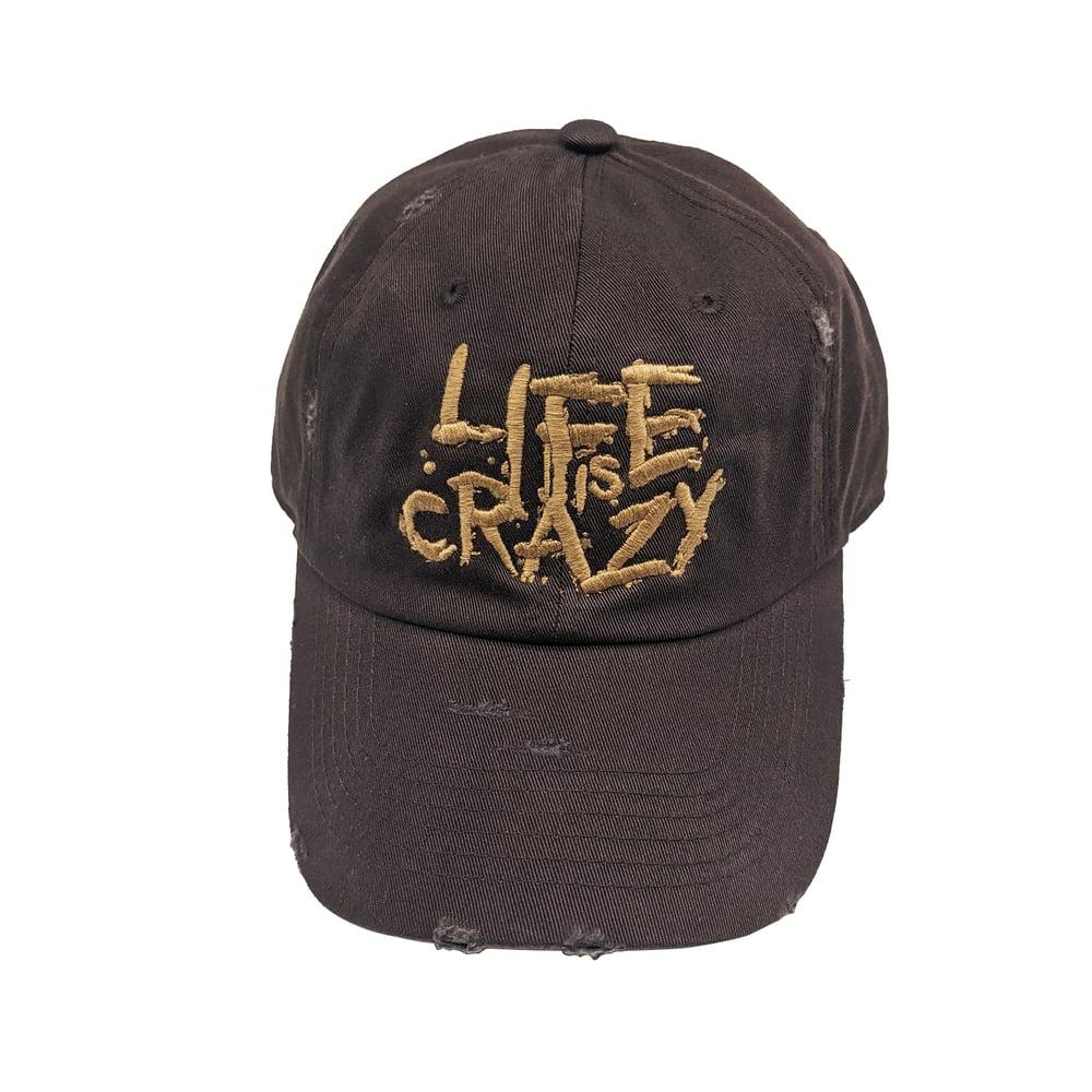 "Image of LIC ""Brownie"" Dad Hat"