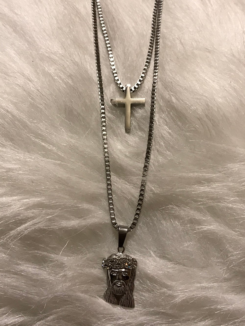 """Image of """"2 CHAINS"""" NECKLACE"""