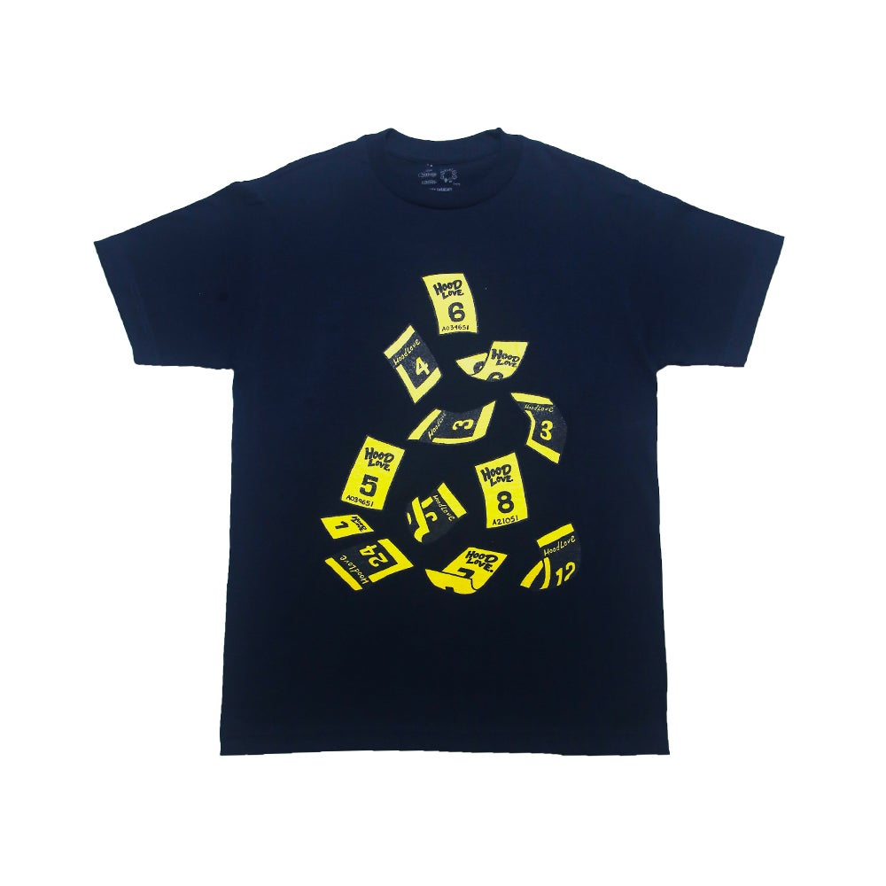 Image of Lunch Ticket Rain T-Shirt (LAUSD Capsule Collection)