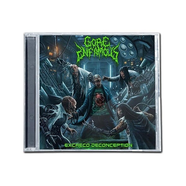 """Image of GORE INFAMOUS """"EXCAECO DECONCEPTION"""" CD"""
