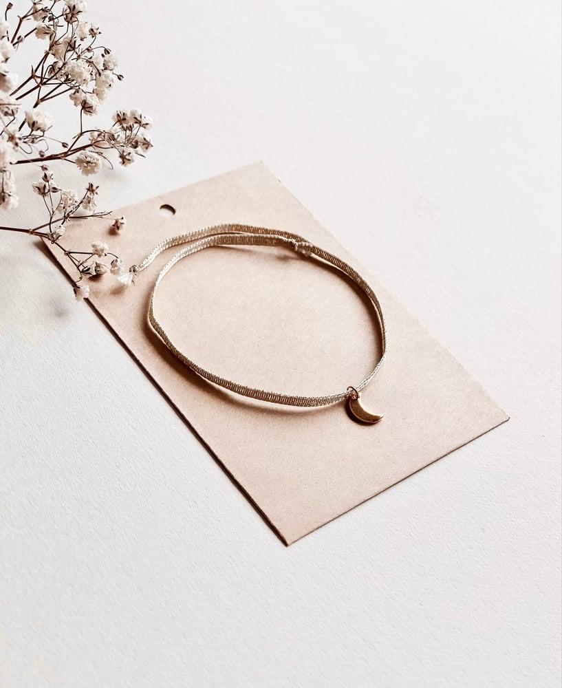 Image of Merci Atsem - ensemble carnet, carte et bracelet étoile ou lune