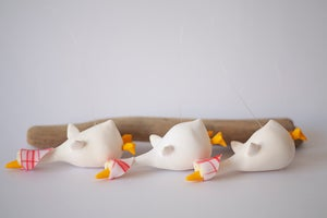 Image of White Geese