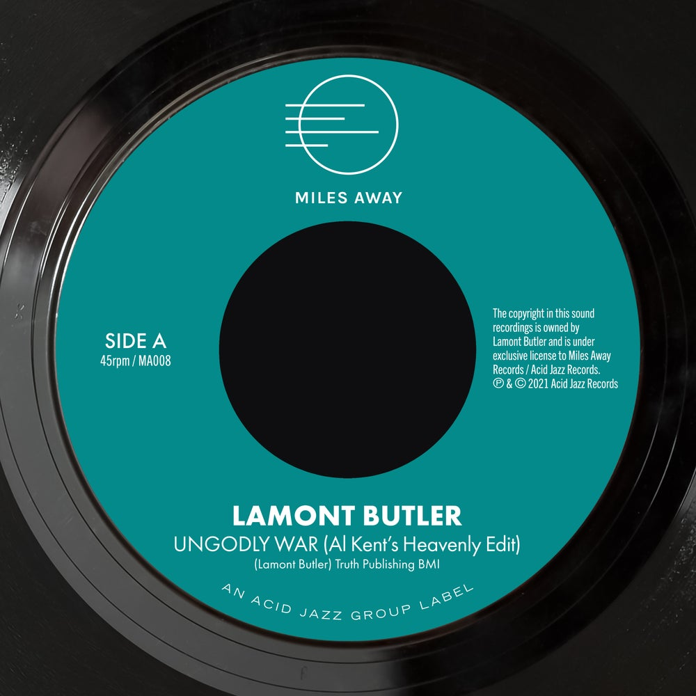 """Image of Lamont Butler - Ungodly War (Al Kent's Heavenly Edit) / Get Up And Praise The Lord  7"""""""