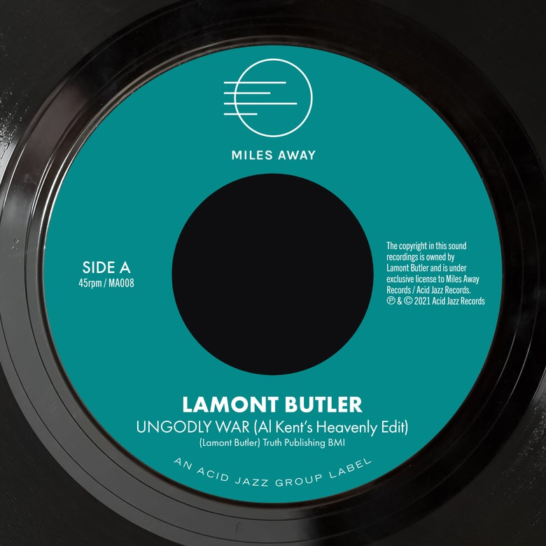 """Image of Lamont Butler - Ungodly War (Al Kent's Heavenly Edit) / Get Up And Praise The Lord  7"""" (Pre-Order)"""
