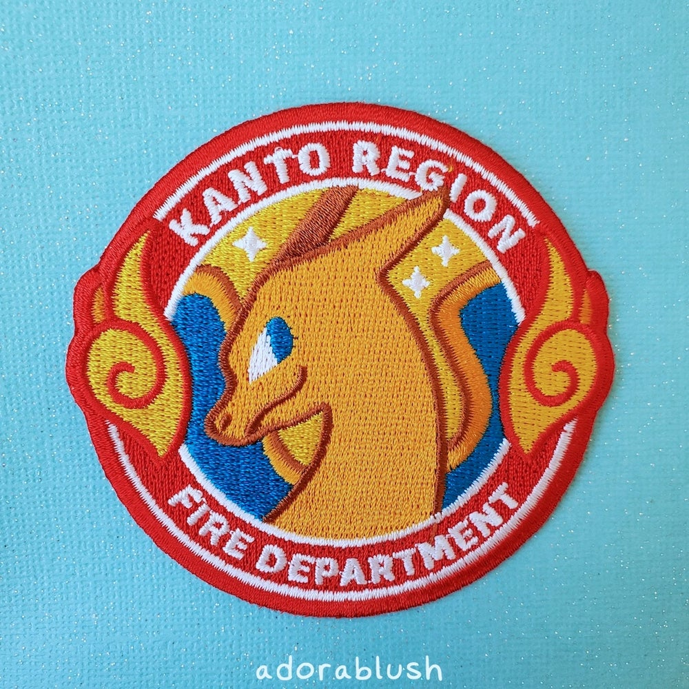 """""""Fire Department"""" - Embroidered Patch"""