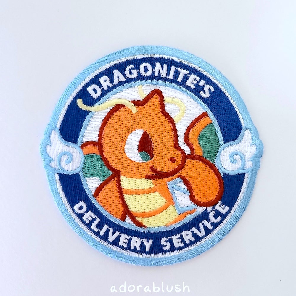 """""""Delivery Service"""" - Embroidered Patch"""