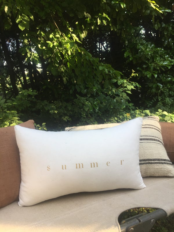Image of Coussin écru summer